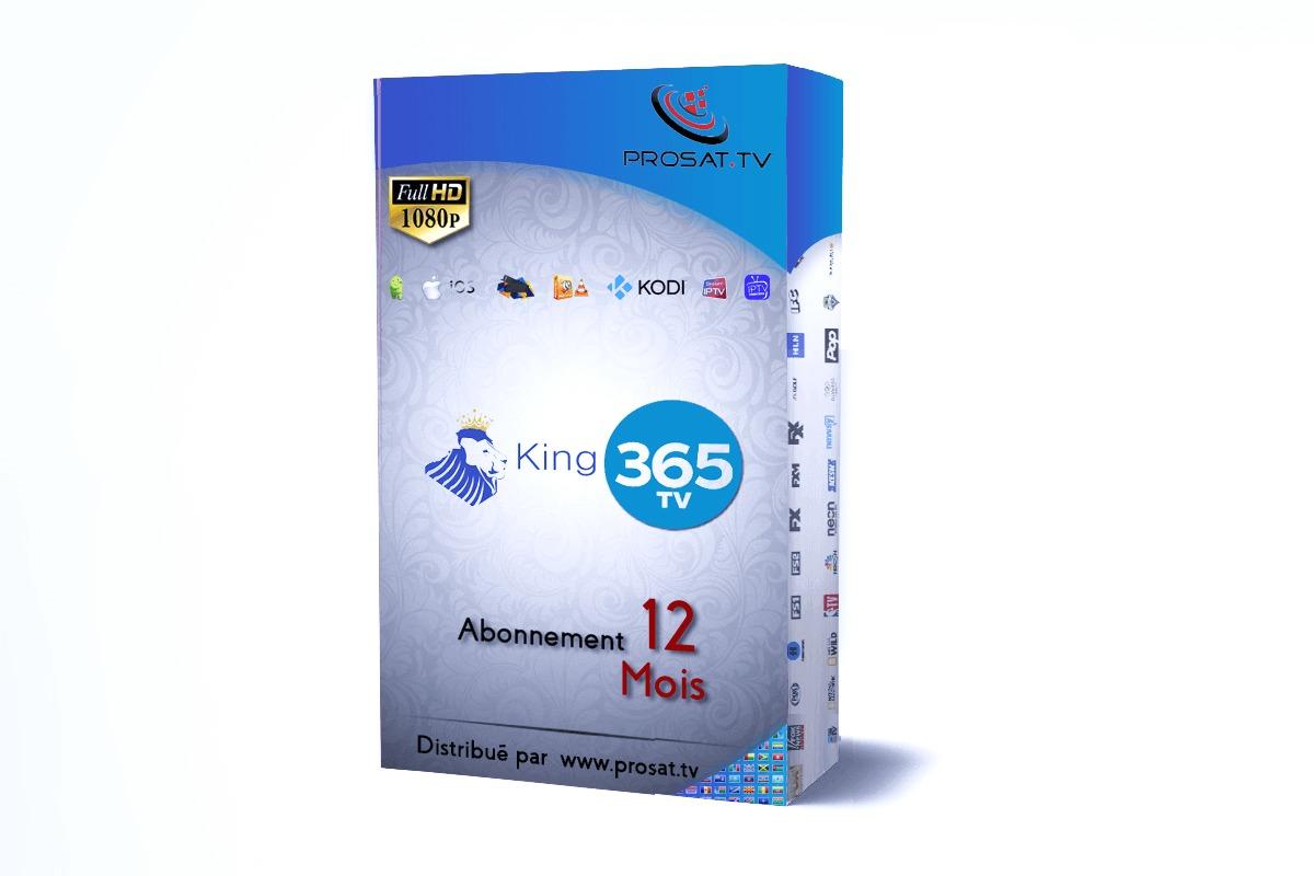 abonnement iptv, KING365tv