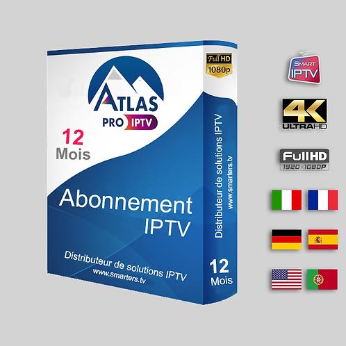 ATLAS PRO -  Full HD - 12 Mois
