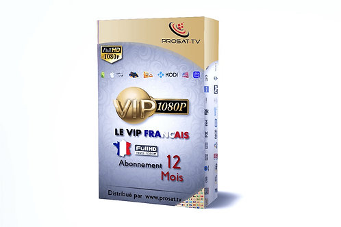 VIP LIGHT Fra  FULL HD, HD 12 Mois