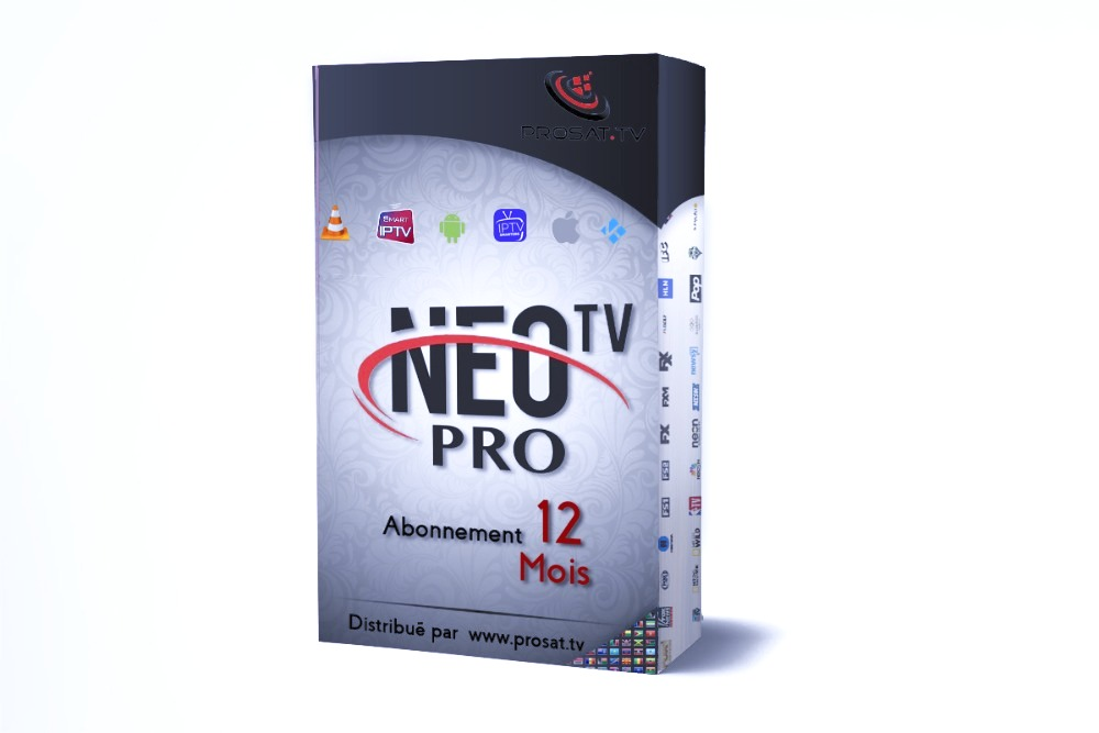 abonnement iptv, NEO TV PRO 2