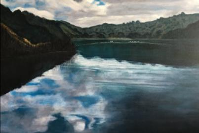 Where Deep Calls to Deep Reflections #3, Lafayette Reservoir