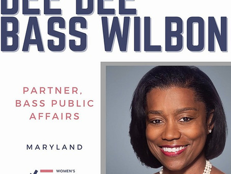 WOMEN'S PUBLIC LEADERSHIP NETWORK ANNOUNCES APPOINTMENT OF DEE DEE BASS WILBON TO BOARD OF DIRECTOR