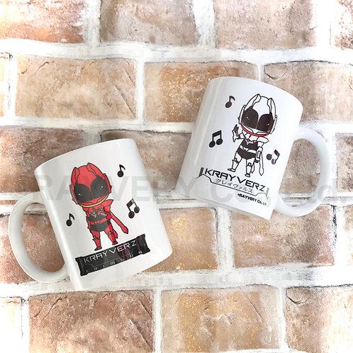 クレイヴァルス&クリムゾン マグカップ(メール便、レターパック不可)