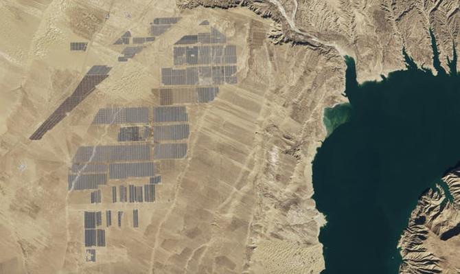 Insanely Big Solar Farms
