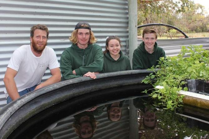 Students Build Solar Panel Farm For Fish