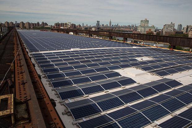 Bronx High School Installs Hundreds of Solar Panels