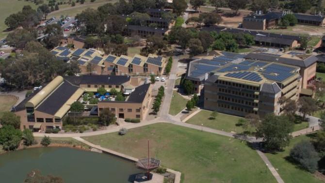 Largest Solar Panel Installation at Charles Sturt University?