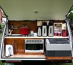 Coffee truck setup