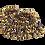 Thumbnail: צמידי פעמונים לרגל-  50 פעמונים
