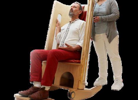 """כיסא מיתרים 130 ס""""מ - פתחים ארוכים"""