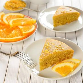 עוגת תפוזים קלילה וטעימה