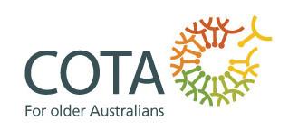 COTA Info Talks (UPDATE)