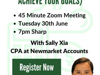 Online Zoom Finance Class!