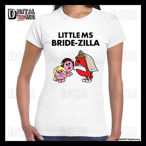 Little Ms Bride-Zilla T-Shirt