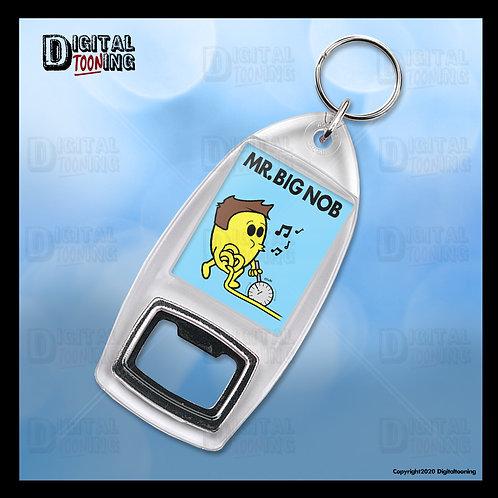 Mr Big Nob Keyring + Bottle Opener
