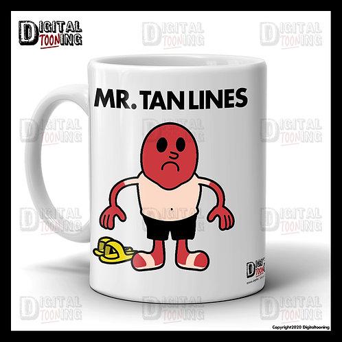 Mr Tan Lines Mug