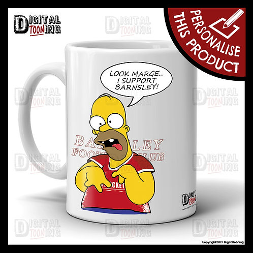 Special Homer - Barnsley Mug