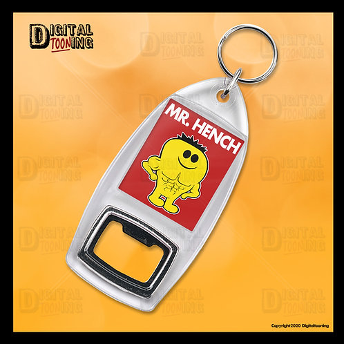 Mr Hench Keyring + Bottle Opener