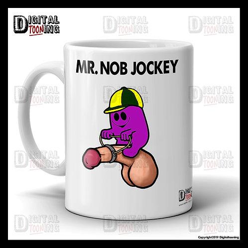 Mr Nob Jockey Mug