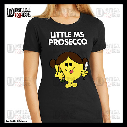 Little Ms Prosecco T-Shirt