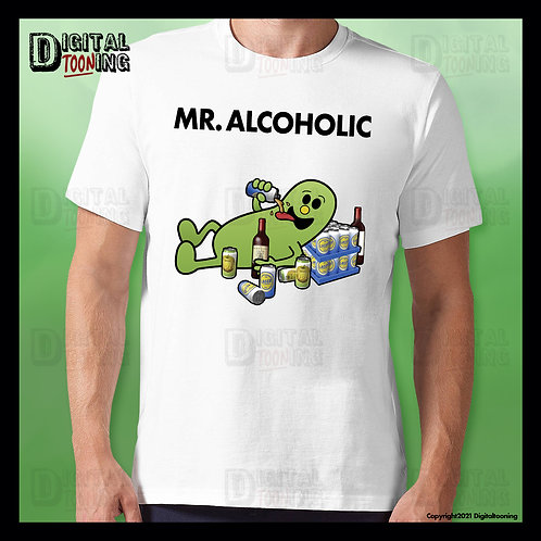 Mr Alcoholic T-Shirt
