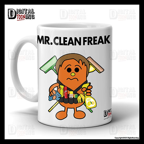Mr Clean Freak Mug