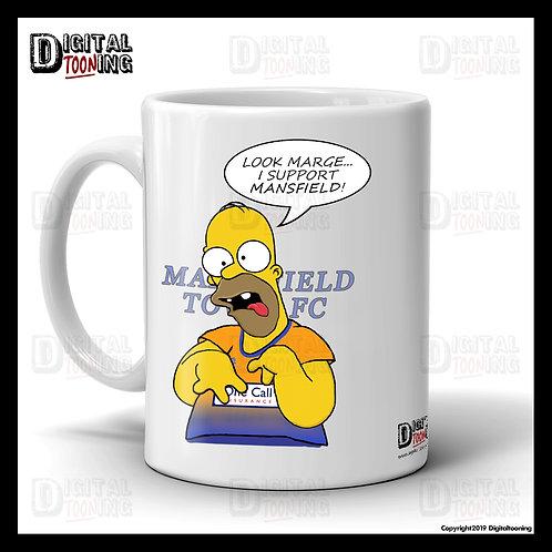 Special Homer - Mansfield Town Mug