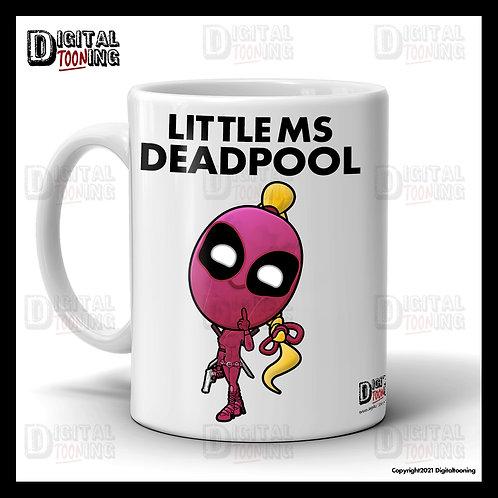 Little Ms Deadpool Mug