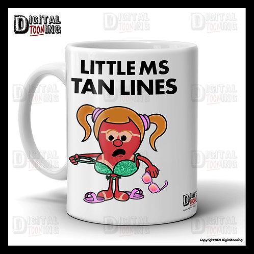 Little Ms Tan Lines Mug