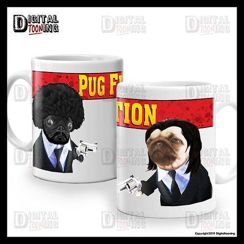 Pug Fiction Mug