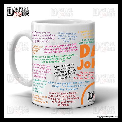 Fathers Day 'Dad Jokes' Mug