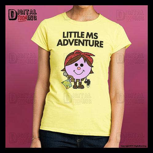 Little Ms Adventure T-Shirt