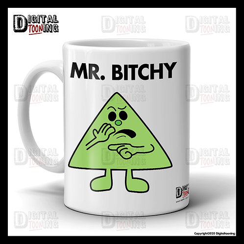 Mr Bitchy Mug