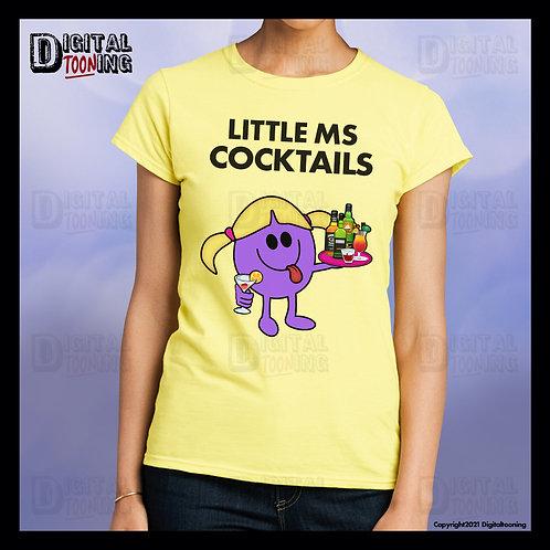 Little Ms Cocktails T-Shirt