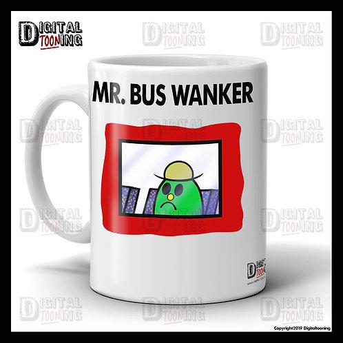 Mr Bus Wanker Mug