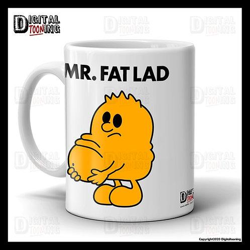 Mr Fat Lad Mug