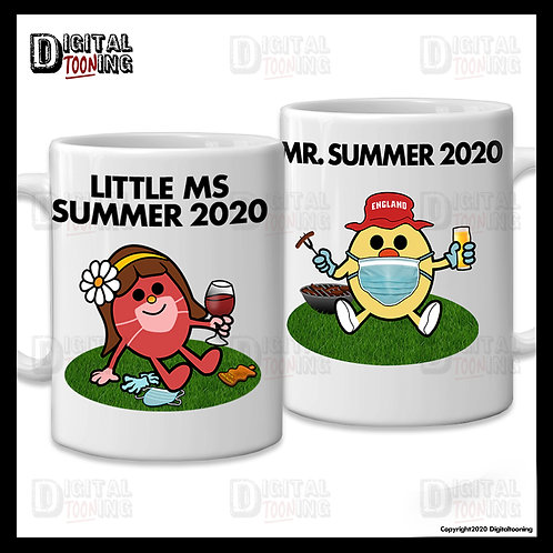 Mr & Little Ms Summer 2020 Mug Set