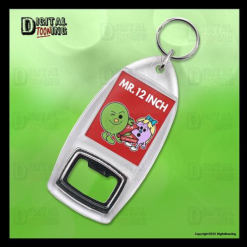 Mr 12 Inch Keyring + Bottle Opener