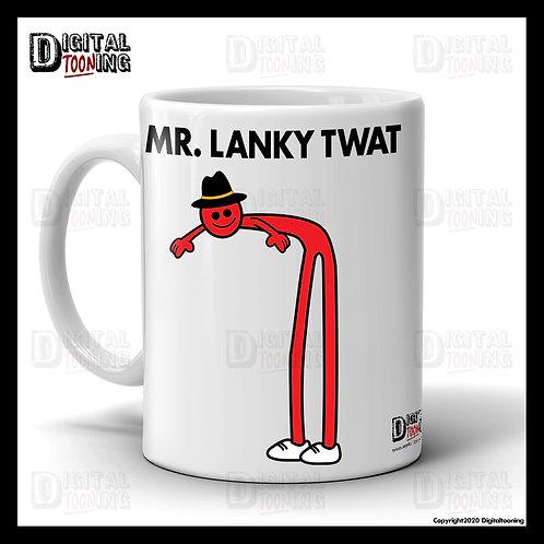 Mr Lanky Twat Mug