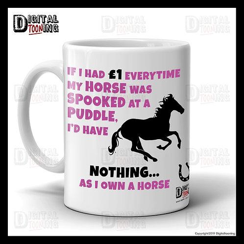 Spooked Horse Mug