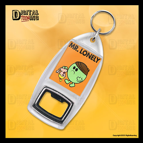 Mr Lonely Keyring + Bottle Opener