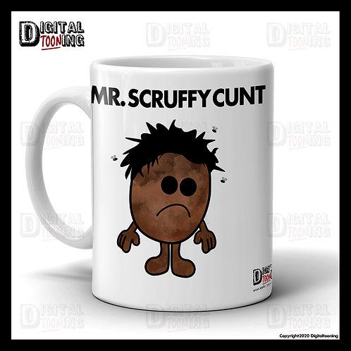 Mr Scruffy Cunt Mug