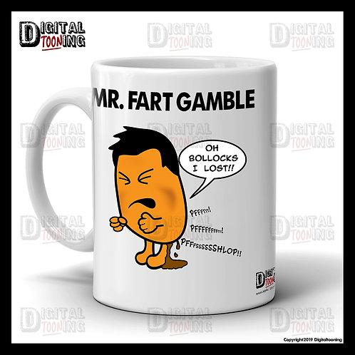 Mr Fart Gamble Mug