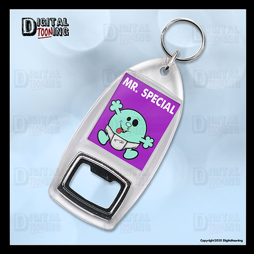 Mr Special Keyring + Bottle Opener