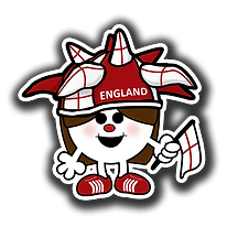 England 3x3 inch square.png