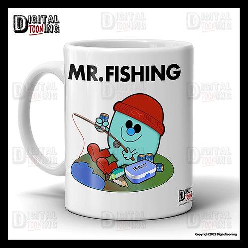 Mr Fishing Mug