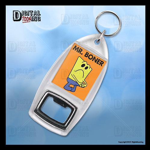 Mr Boner Keyring + Bottle Opener