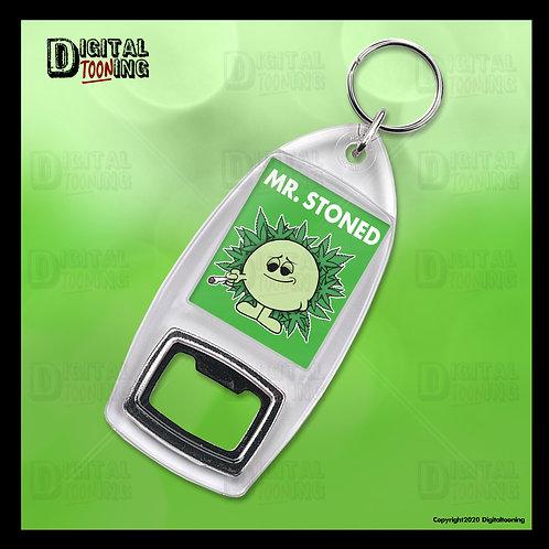 Mr Stoned Keyring + Bottle Opener