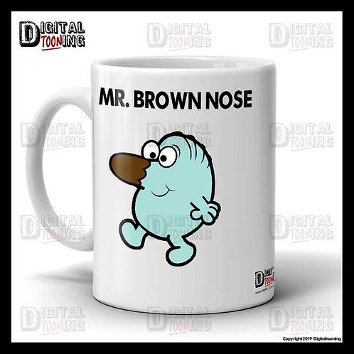 Mr Brown Nose Mug