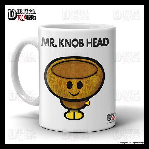 Mr Knob Head Mug